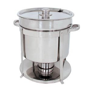11 QT STAINLESS STEEL COMMERCIAL SOUP CHAFER / CHAFING DISH