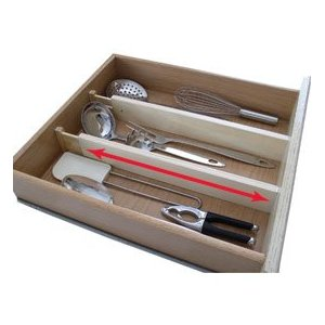 Axis Expandable Kitchen Drawer Divider