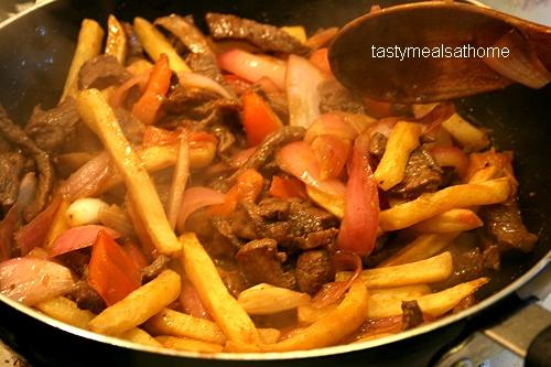 Lomo Saltado Recipe - a Peruvian Delight Courtesy: http://tastymealsathome.com