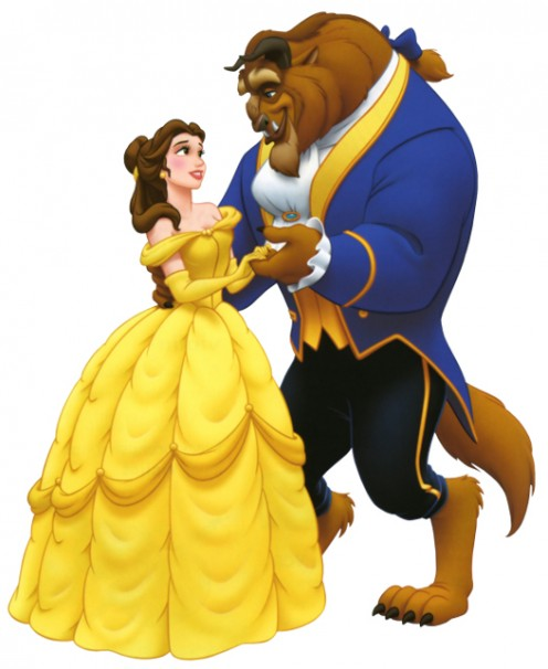 Disney Princess Belle Beauty and The Beast Coloring Pages for Children