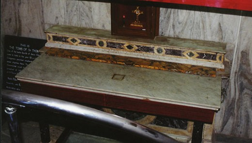 TOMB OF SAINT THOMAS