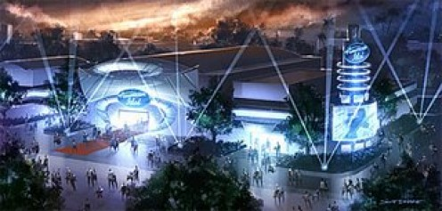 The American Idol attraction rendering - High-res picture