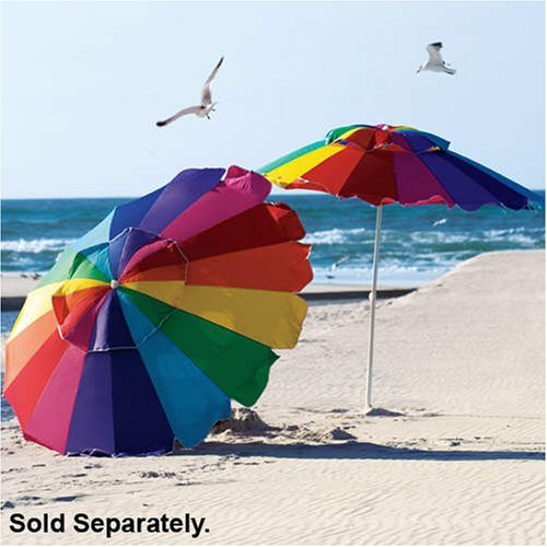 Beach umbrellas and sun umbrellas will make your day at the beach cool!