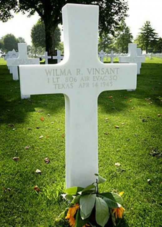 Wilma's grave at Margraten