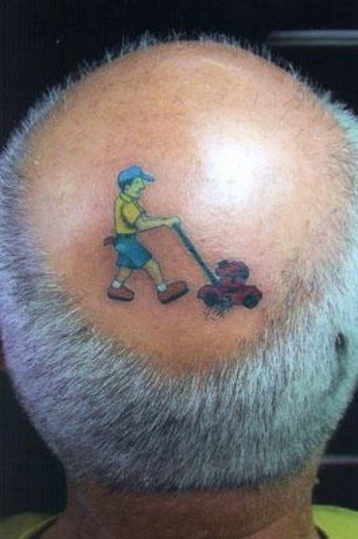 Funny tattoos just wouldn't be funny tattoos without this famous
