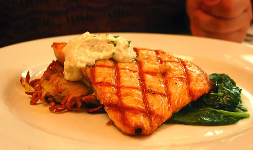 Grilled Salmon photo: ulterior epicure @flickr