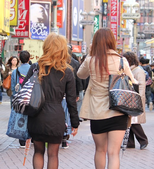 Men can also appreciate a visit to Shibuya's fantastic fashion district