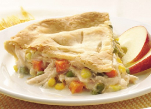 This pot pie is so easy your kids will love making it.