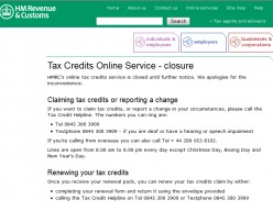 Working Tax & Child Tax Credit Helpline Hell With Experian Security Checks