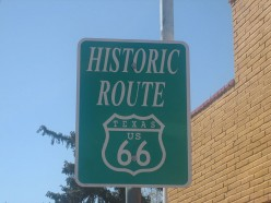 Attractions Along Texas Historic Route 66