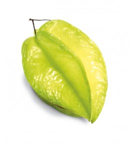 Star Fruit better known as Five Finger in the West Indies