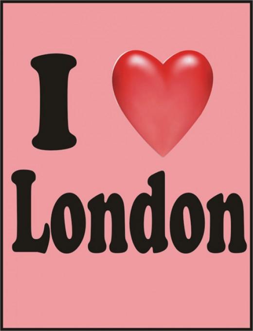 I love London by Heart