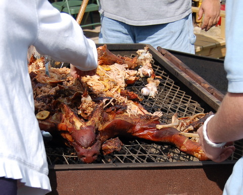Pondering: What parts of the pig are perfect for pickin'? My guess is everything, especially if you're from the South.