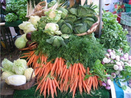 Vegetables are loaded with nutrients and antioxidants.