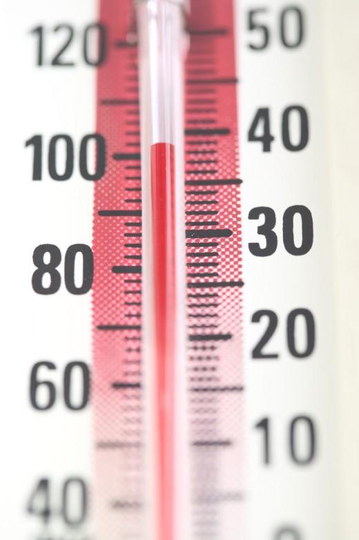Summer heat temperatures rising