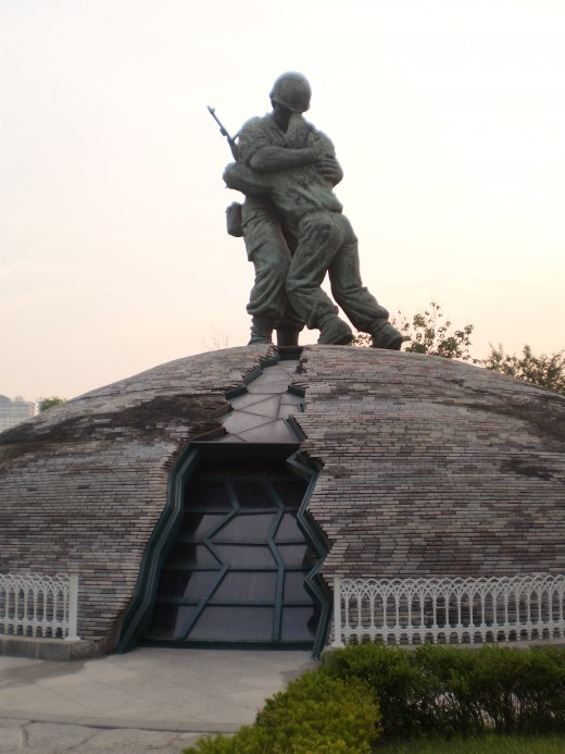The Statue of Brothers is an important monument as it represents the hope of reunification for North and South Korea.