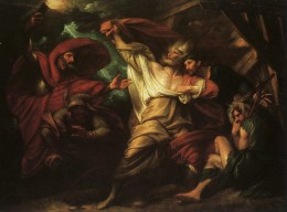 The Death of King Lear by Benjamin West 1728 - 1820