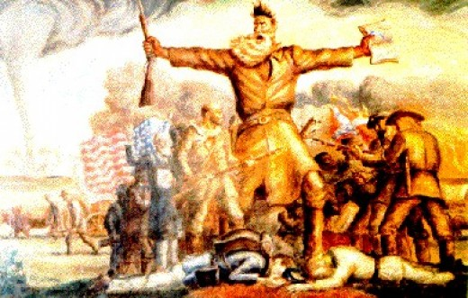 John Steuart Curry's famous painting of John Brown