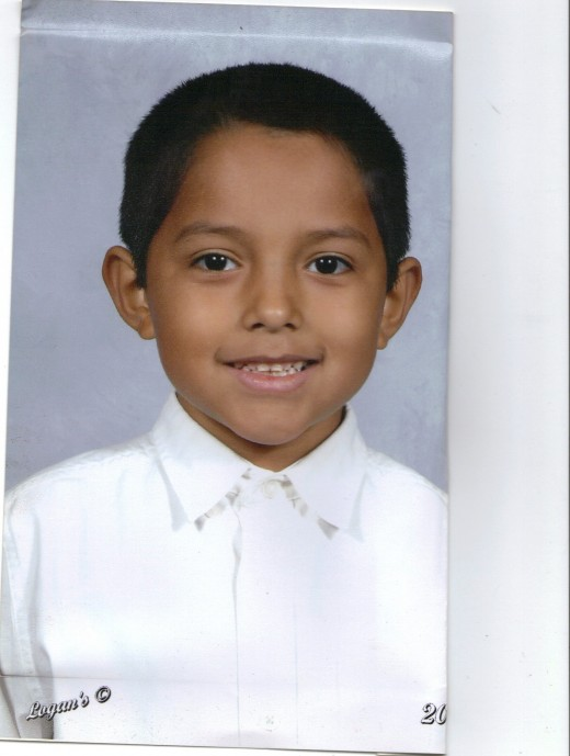 My Son and Tween Gabriel Jr. at 8 years old.