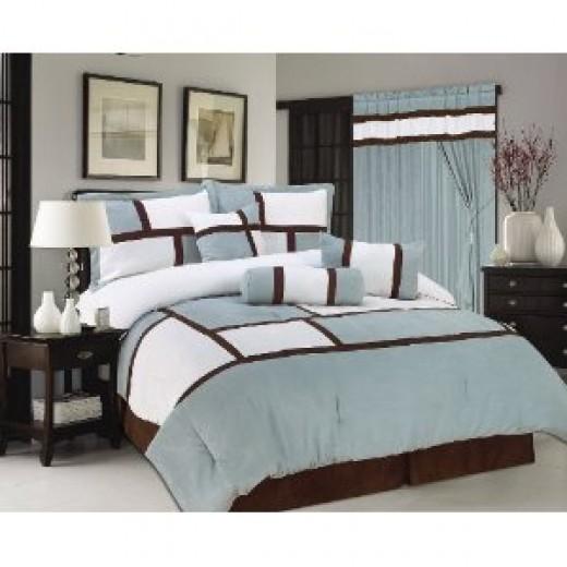 Aqua Blue Bedding
