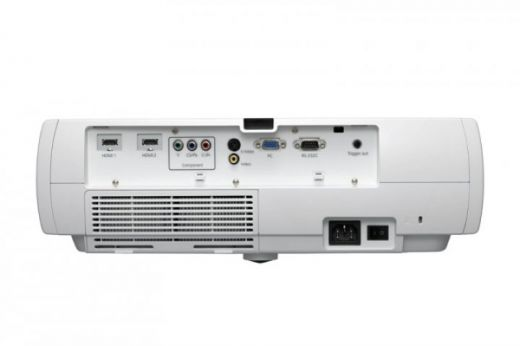 The EH-TW4400 rear panel