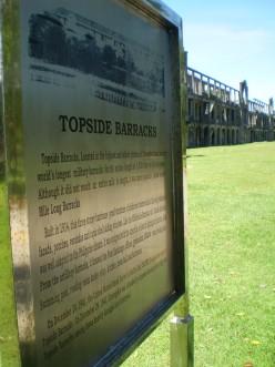 Mile Long Barracks, Corregidor.