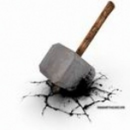 "My Word is like a hammer..that breaks rocks in pieces."" -Jer.23"
