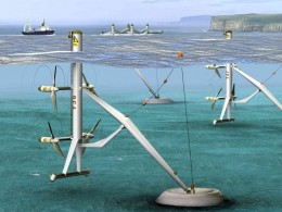 Capturing tidal energy is somewhat new and it has hardly been tapped. Experiments are being conducted to find the best designs,