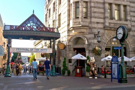 Bastion Square, Victoria BC