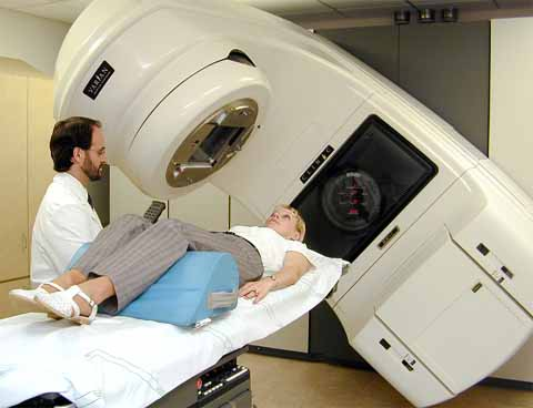 Radiation therapy causes dry mouth