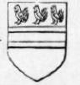 Blakiston Coat of Arms from Medieval times:  John Blakiston signed the King's Death Warrant.