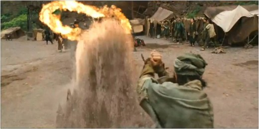 Fire vs Earth