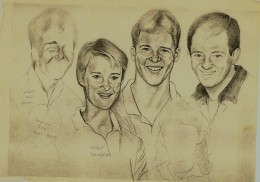 A Family Protrait I had made a copy of before I passed orginals to Father