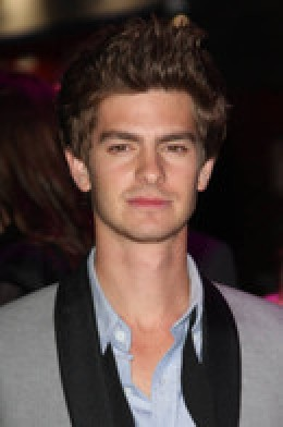Andrew Garfield who will replace Tobey Maguire in the new Spider-man