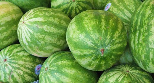 Watermelons / Photo by E. A. Wright