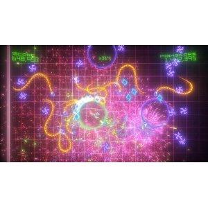 Geometry Wars 2 is like eye candy!