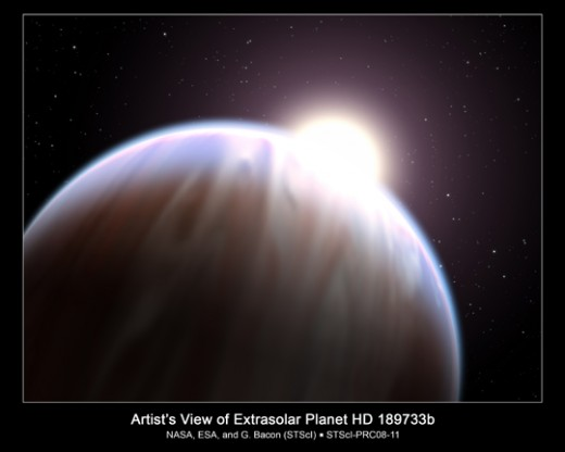 the new planet and a new star