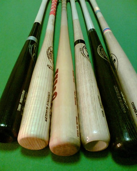 Baseball equipment - baseball bats