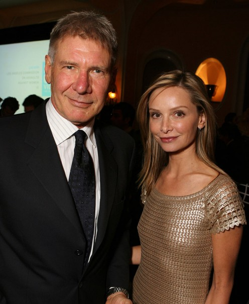 Harrison Ford & Calista Flockhart