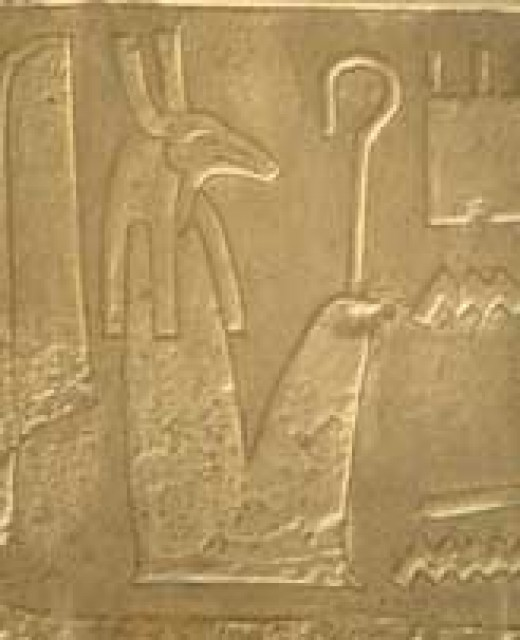 The god Seth; brother to Osiris. Image Credit:ancient-egypt-online.com