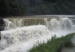Lower Letchworth Falls (55 feet high)