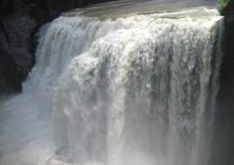 Middle Letchworth Falls (107 feet high)