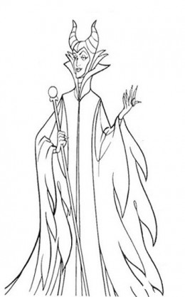 Disney villains coloring pages free coloring pages for Coloring pages disney villains