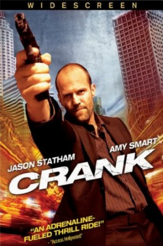 Movie review of Crank starring Jason Statham.