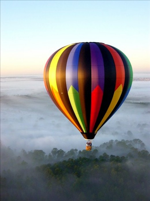 One of the oldest VTOL aircraft is the hot air balloon, still in use by enthusiasts today.