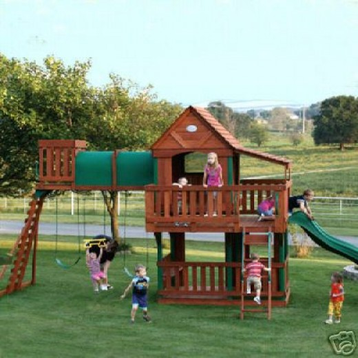Access Wood Plans For Swing Sets Gurawood