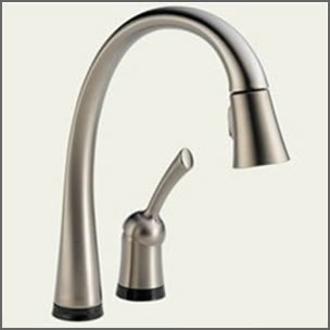 Delta One Touch Pilar Kitchen Faucet
