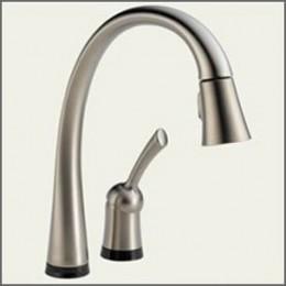 Delta One Touch Pilar Kitchen Faucet