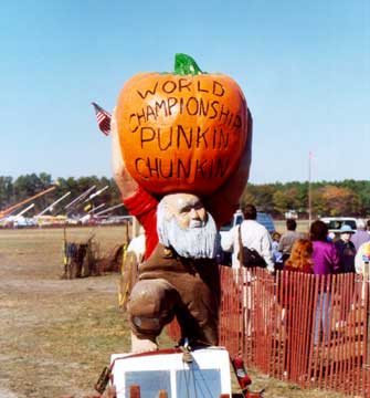 "Enter the ""Punkin Chunkin"" contest."