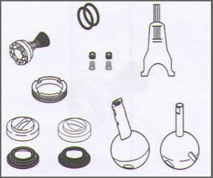 Delta Faucet Repair packs